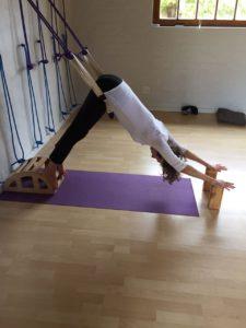 yoga kurunta  rope yoga at noordhoek yoga studio cape town